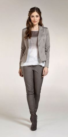 Rough Glamour - Look 2 - Expresso Taupe, Glamour, Chic, Pants, How To Wear, Nice Outfits, Style, Fall, Fashion