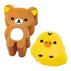 Rilakkuma and  Kiiroitori Bread and Cookie Cutter by bubucraftie on Etsy
