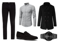 business casual by vanyflores on Polyvore featuring Frame, Tod's, Citizen, men's fashion and menswear