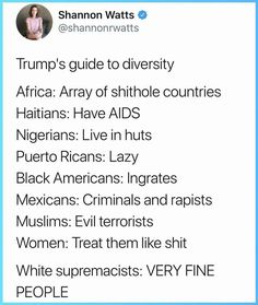 """Being a woman, I already hated his guts for what he's said about us. But it was really a different feeling when he called Puerto Ricans """"lazy"""". I've been called the wrong race, or told that pr people and Mexicans are """"basically the same thing"""" but I've never really felt discriminated for being Puerto Rican until Trump. Really gave a different understanding of black/non white people, having to deal with this all the time."""