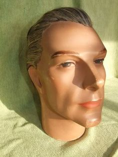 Male Art Deco Mannequin Head
