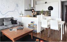 kuchnia z salonem 20 m - Szukaj w Google