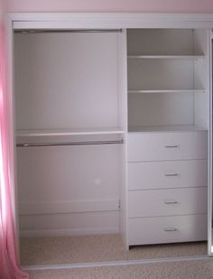 Super small closet solutions Diy Built Ins 34 ideasSuper Small Cabinet Solutions Diy Built Ins 34 Ideas diy closetSmall closet organization bedroom kids dressers ideasSmall closet organization bedroom kids dressers ideas bedroom Kid Closet, Closet Bedroom, Bedroom Decor, Bedroom Kids, Closet Dresser, Trendy Bedroom, Bedroom Storage, Master Bedroom, Bedroom Apartment