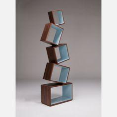 geometric shelves