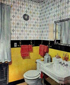 50s bathroom