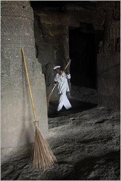 sweeper active!, ellora | par nevil zaveri (thank you for 10million+ views :)
