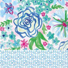 Rosanne Beck - Spring Garden Lunch Napkins
