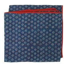 Daisy Dabu Indigo Twin Bedspread