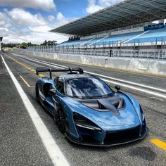 Blue McLaren Senna Racing Luxury Wallpaper - Perfect wallpaper for your iPhone if you're looking for expensive luxury cars supercars, do you l - Mclaren Cars, Bugatti Cars, Ferrari, Exotic Sports Cars, Exotic Cars, Sports Car Wallpaper, Forza Horizon 4, Top Luxury Cars, Luxury Wallpaper