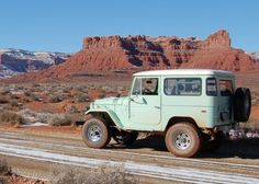 1970 Toyota Land Cruiser FJ40 Maintenance of old vehicles: the material for new cogs/casters/gears/pads could be cast polyamide which I (Cast polyamide) can produce