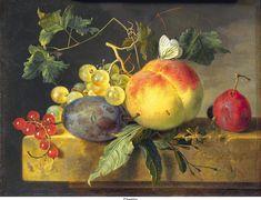 Jan van Huysum: Still Life with Fruit. ca. 1735.
