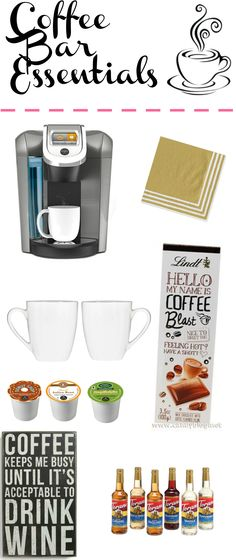 Coffee Bar Essentials