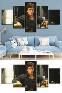Style: Modern  Subject: Movie  Material: Canvas  Type: Canvas Printing  Shape: Irregular  Frame: With Frame  #artwork #artprints #canvasprints #homedecor Canvas Art, Canvas Prints, Art Prints, Wall Decor, Wall Art, Frame Sizes, Decoration, Framed Artwork, Abstract Art