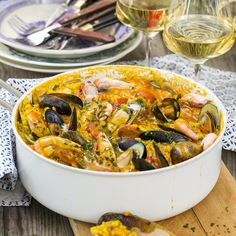 Dinner For Two, Paella, Kos, Food To Make, Cooking, Ethnic Recipes, Kitchen, Aries, Brewing