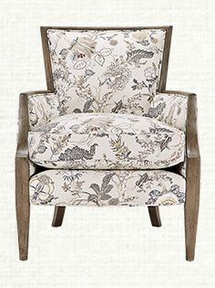 Abigail Upholstered Chair In Easley Pewter
