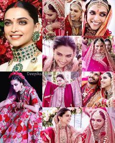 #BeautifulBride 😍😍😍 Deepika Padukone ❤💙❤ Deepika Ranveer, Deepika Padukone Style, Indian Wedding Photography, Event Photography, Indian Film Actress, Indian Actresses, Bollywood Celebrities, Bollywood Actress, Sterling Jewelry