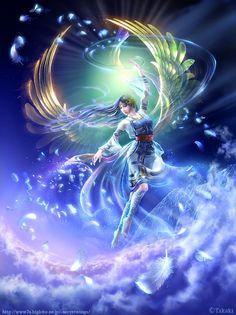 Artist Kagaya Fairy Myth Mythical Mystical Legend Elf Fairy Fae Wings Fantasy…