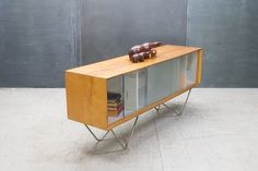 Prototype Florence Knoll Vladamir Kagan Credenza 20th Century Vintage Industrial, or Raymond Loewy