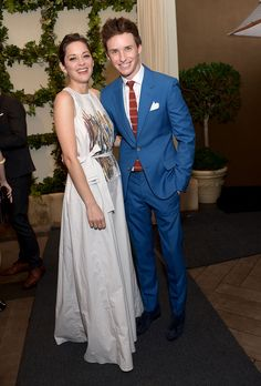 Before the Gold Rush - Marion Cotillard and Eddie Redmayne attend BAFTA Los Angeles Tea Party