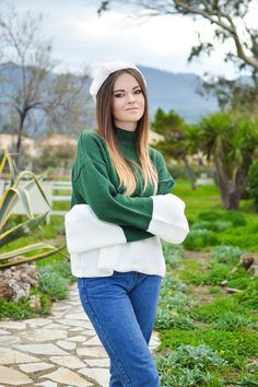 Sweater Weather / Hi Again Tropical Corfu / Island Fashion on Shiny Honey by Tamara Bellis Fashion and Lifestyle Blogger