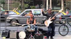 Street artists: Highway star (Deep Purple cover)