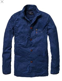 Scotch & Soda french farmer's jacket: sauce Sweat Shirt, Cool Jackets, Scotch Soda, Swagg, Well Dressed, Denim Jeans, Denim Suit, Skinny Jeans, Work Wear