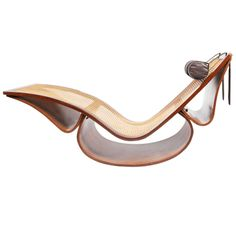 """Exceptional """"Rio"""" chaise longue by Oscar Niemeyer 