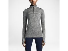 Nike Dri-FIT Knit Half-Zip Women's Running Shirt