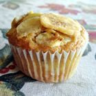 Banana Muffins with a crunch.  Delicious and moist muffin recipe...I left out the granola and walnuts and put in blueberries and chocolate chip instead.  Tasty tasty!    http://allrecipes.com/Recipe/Banana-Muffins-with-a-Crunch/Detail.aspx#