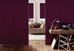 Panel blinds the stylish room divider for creative spaces a versatile and contemporary way to control light, glare and privacy in both domestic and commercial Ideas Paneles, Panel Blinds, Blinds Online, Extra Rooms, Moving House, What's Trending, Window Coverings, Shutters, Great Rooms