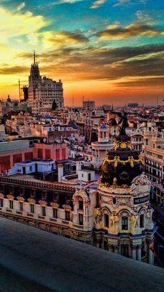 Madrid vintage by Martin De Saints