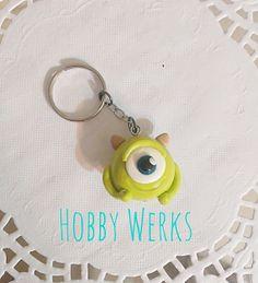 Monsters Inc. Iinspired Mike Wazowski Keychain by HobbyWerks, $7.00