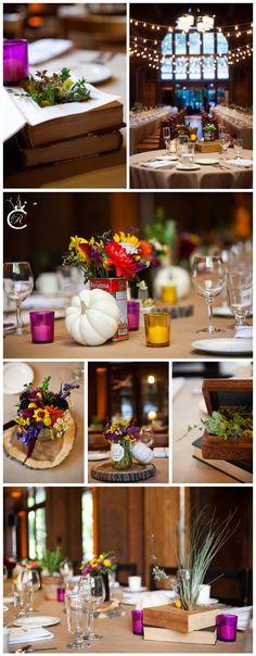 Berkeley Faculty Club Wedding • Berkeley Wedding • Fall Wedding Wedding • Pumpkins • Succulents • Succulents in Books • Soup Can vases Wedding Pumpkins, Pumpkin Wedding, Fall Wedding, Club Design, Real Couples, Bat Mitzvah, Carrie, Vases, Wedding Stuff