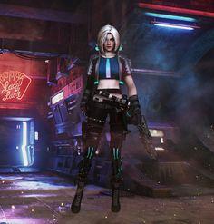 Cyberpunk 2077 - Ciri by xkalipso