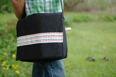 Or a stylish messenger bag | 23 DIY Upgrades Any Man Can Make To Look Better