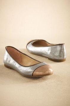 Silver Metallic Flat Need this!