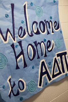 Welcome Home to ADPi