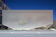 The Broad is a new contemporary art museum built by philanthropists Eli and Edythe Broad on Grand Avenue in downtown Los Angeles. The museum, which is designed by Diller Scofidio + Renfro.
