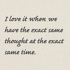It happens so often too ❤️