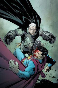 "Greg Capullo - Batman vs Superman in""The Dark Knight III"""