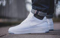 Nike Air Force 1 Ultra Flyknit 'White' (via Kicks-daily.com)