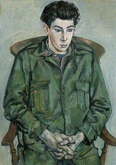 David Tindle (b.1932), as a Boy by John Minton