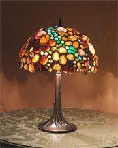 Shell lampshades by desiree Gillingham of Produit Studios, Shellshades.com14-407