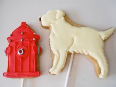 The fire hydrants! SO CUTE! too bad I won't have time to make these...