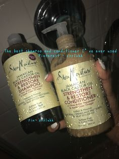 The best shampoo and conditioner I've ever used