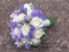 Svatební kytice Lavander Rose
