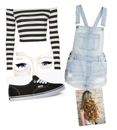 """""""Road trip to the Mall"""" by zmills151 on Polyvore featuring Topshop and Vans"""