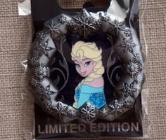 Win Limited Edition Anna and Elsa Disney Trading Pins