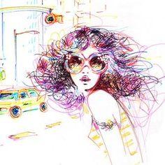 Ilustraciones de Antoinette-Fleur