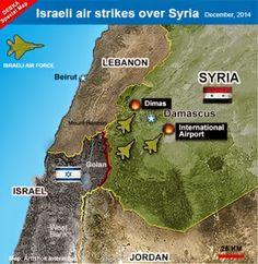 Israel ayuda a los terroristas contra Siria bombardeando Damasco y concediendo tratamiento médico a sus heridos